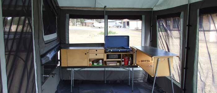Ians campers - camper trailer picture