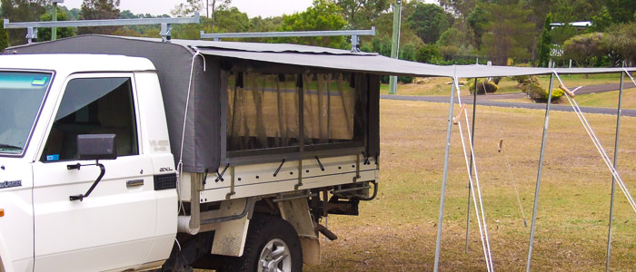 ... Ians c&ers Ute Canopies ... & Ianu0027s Campers - quality hand made Camper Trailers Canopies and ...