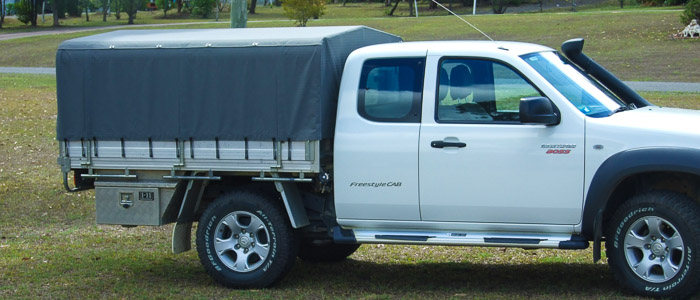 Ians campers Ute Canopies
